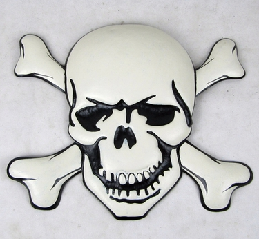 Halloween Skull Wall Decor - Click to enlarge