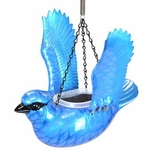 Small Hanging Blue Jay Feeder/Planter
