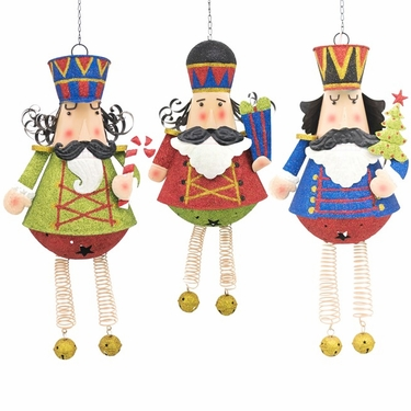 Hanging Nutcrackers Statues (Set of 3) - Click to enlarge