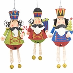Hanging Nutcrackers Statues (Set of 3)