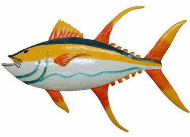Hanging Tuna Wall Decor - Click to enlarge