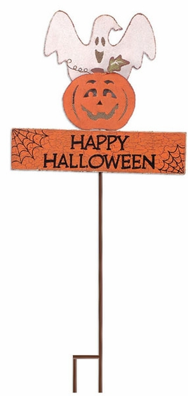 Happy Halloween Garden Stake - Click to enlarge