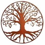 """Hearts"" Tree of Life Wall Art"