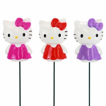 Hello Kitty Plant Stakes (Set of 3) - Click to enlarge