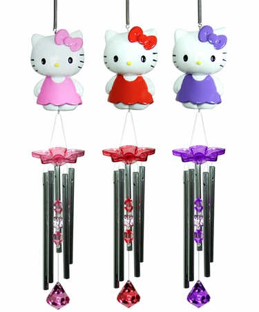 Hello Kitty Wind Chimes (Set of 3) - Click to enlarge