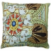 Henna Art Outdoor Pillow