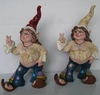 Hippie Chick Gnome