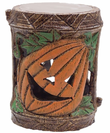 Holiday Garden Tiki Stakes - Pumpkin (Set of 4) - Click to enlarge