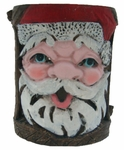 Holiday Garden Tiki Stakes - Santa (Set of 4)