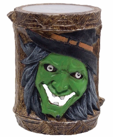Holiday Garden Tiki Stakes - Witch (Set of 4) - Click to enlarge