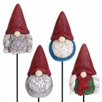 Holiday Gnome Plant Stakes (Set of 4)