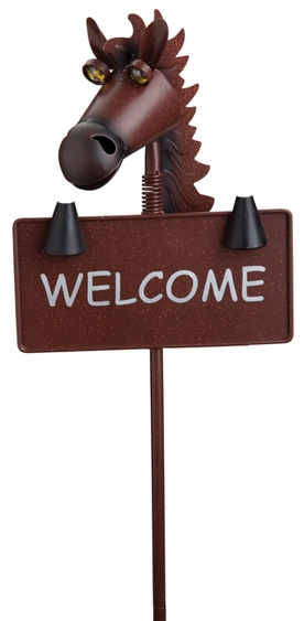 Horse Welcome Sign - Click to enlarge