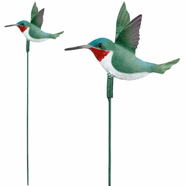 Hummingbird Garden Stakes (Set of 6) - Click to enlarge