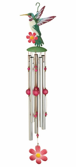 Hummingbird Wind Chime - Click to enlarge