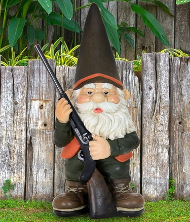 Hunting Gnome - Click to enlarge