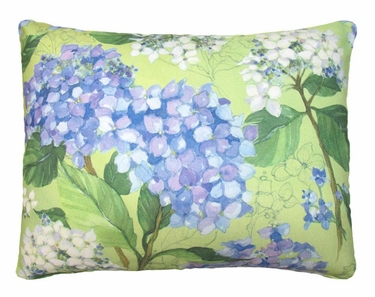Hydrangea Pair Outdoor Pillow - Click to enlarge