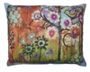 Impressions of Nature: Bird in Heart Outdoor Pillow