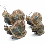 Iron Garden Snails (Set of 4)