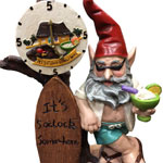 It's 5 O' Clock Somewhere Gnome