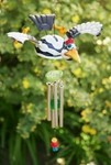 Ivory Woodpecker Wind Chime