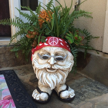 Jerry Face Planter - Antique Finish - Click to enlarge