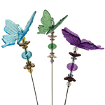 Valentine's Butterfly Stakes (Set of 6)