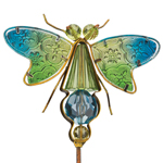 Jeweled Dragonfly Stakes (Set of 6)