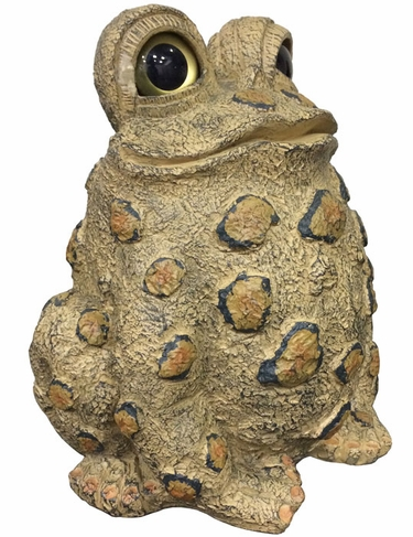 Jumbo Tall Toad - Light Natural - Click to enlarge