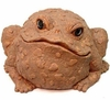Jumbo Toad Statue - Coffee