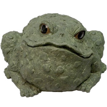 Jumbo Toad Statue - Evergreen - Click to enlarge
