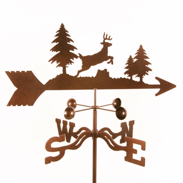 Jumping Deer Weathervane - Click to enlarge