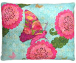 Kaleidoscope Butterflies Outdoor Pillow