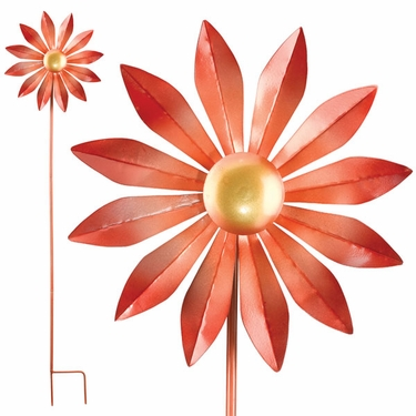 Kinetic Daisy Wind Spinner - Click to enlarge