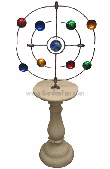 Kinetic Orbiter Multicolor Pedestal - Click to enlarge