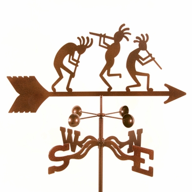 Kokopelli Weathervane - Click to enlarge