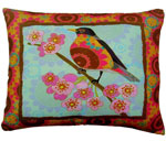 Ladybird Bright 4 Outdoor Pillow