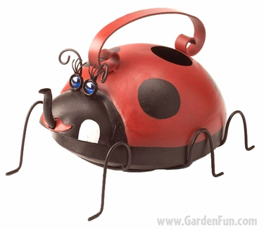 Ladybug watering can only at garden fun - Ladybug watering can ...