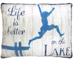 Lake Living Outdoor Pillow