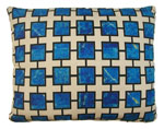 Lapis Blue Outdoor Pillow