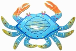 Large Blue Spotted Crab