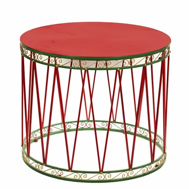 Large Christmas Drum - Click to enlarge