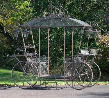 Large Cinderella Carriage Stand - Bronze - Click to enlarge