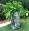 Large Elephant Planter - Graystone Finish