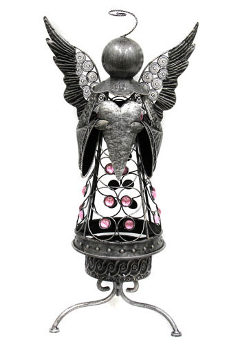 Large Filigree Angel Statue - Click to enlarge