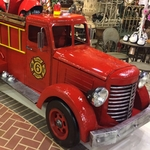 Large Fire Truck Engine Decor