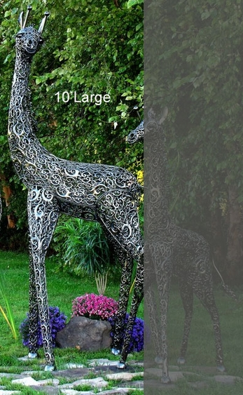 Large Giraffe Decor - Click to enlarge