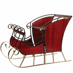 Large Glossy Red Sleigh