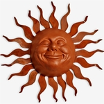 Large Grin Sun Decor w/Wave Rays