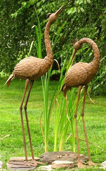 Large Herons (Set of 2) - Click to enlarge