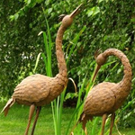 Large Herons (Set of 2)